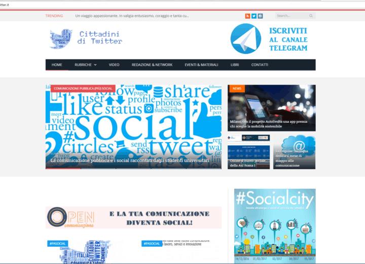 Home Page Cittadini di Twitter